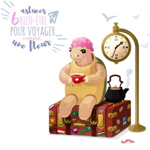 6 astuces pour voyager comme une fleur